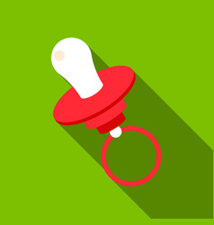 Nipple flate icon for web and mobile vector