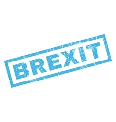 Brexit rubber stamp vector