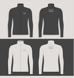 Mens sport jacket vector