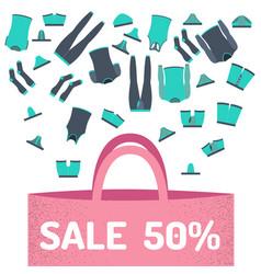 Sale set underwear vector