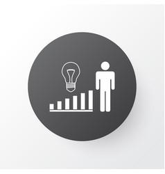 Management improvements icon symbol premium vector