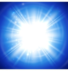 bright flash explosion or burst vector image