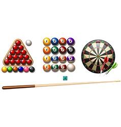 Pub games vector