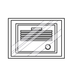 Diploma professional degree document frame glass vector