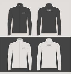 mens sport jacket vector image