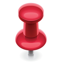 Thumbtack icon vector