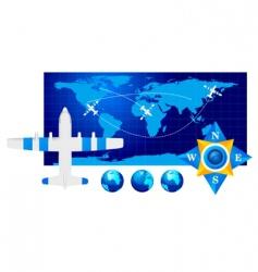 travel illustration vector image vector image