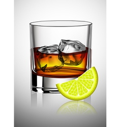 whiskey vector image