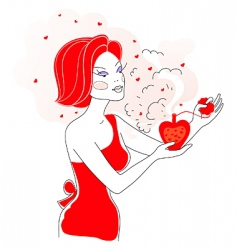 love scent vector image