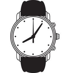 Symbol wristwatch vector image