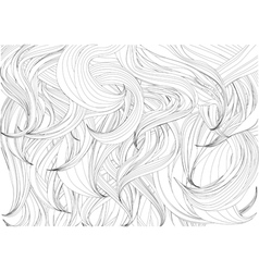 Hair background vector