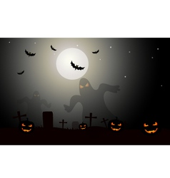 Halloween Background- vector image