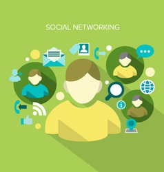 Social networking vector