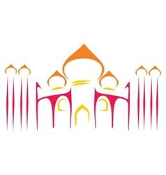 Temple symbol vector image