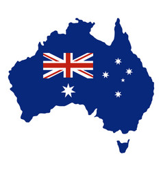 Australia icon isolated vector
