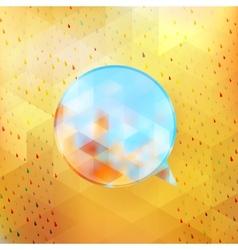Abstract Speech Bubble EPS 10 vector image