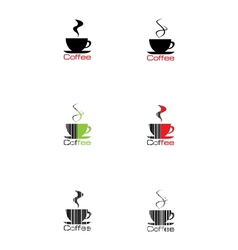 Label coffee vector