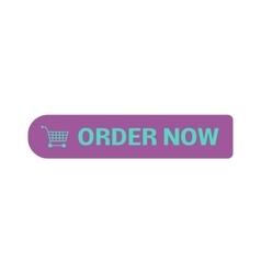 Shop button icon vector