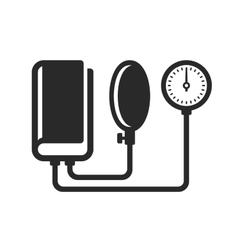 Tonometer icon on white background vector