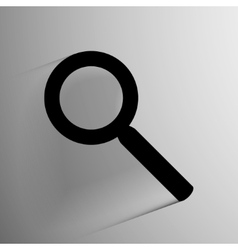 Search icon background vector