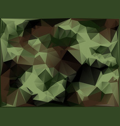 abstract military camouflage background vector image vector image