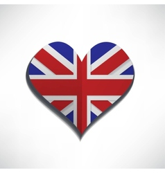 love flag london vector image