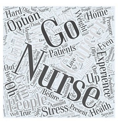 What are your options for careers with nursing vector