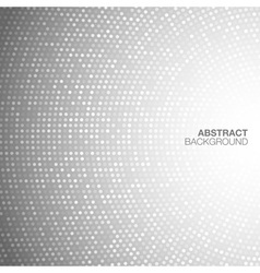 Abstract Circular Light Gray Background vector image vector image