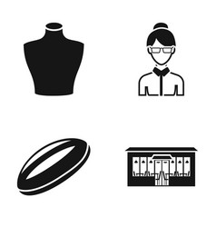Atelier cooking and or web icon in black style vector