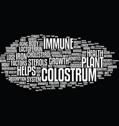 Give your immune system a boost text background vector