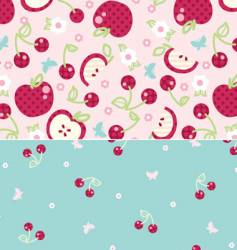 spring fruit vector image