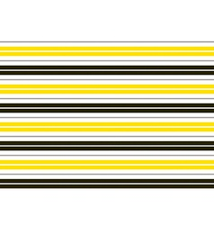 Yellow black white stripes background vector