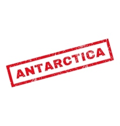 Antarctica rubber stamp vector