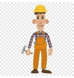 Construction worker cartoon vector