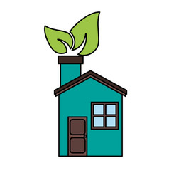 eco friendly icon image vector image