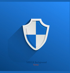 Guardian shield vector image