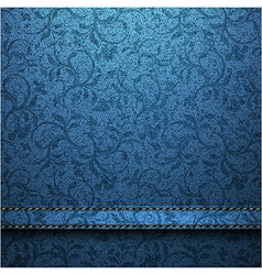 Textile texture background vector
