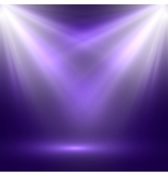 Abstract of bright stage light vector