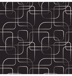 Abstract geometric line and square seamless vector