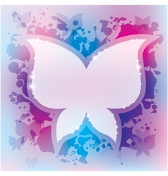 abstract background butterfly vector image