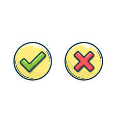circle lines buttons vector image