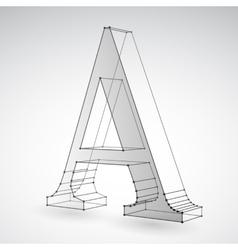 Geometric Polygonal Type Element vector image vector image