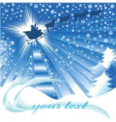 jolly santa vector image vector image