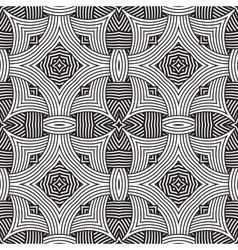 decorative modern geometric seamless pattern vector image vector image