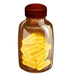 vitamin d vector image