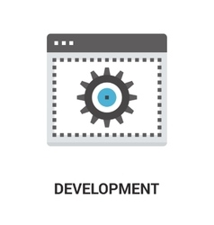 Web development icon vector