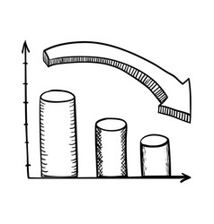 Graphic stats draw vector