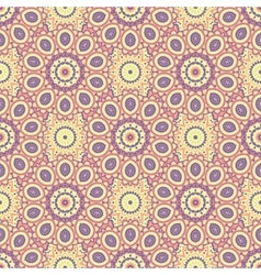 Ethnic floral seamless pattern4 vector image
