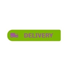 Shop button icon vector image
