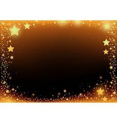 Stars frame vector